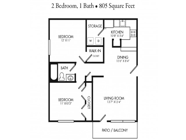 Renovated 2 Bedroom Apartment Unit. Rent by Bed or Full Unit.