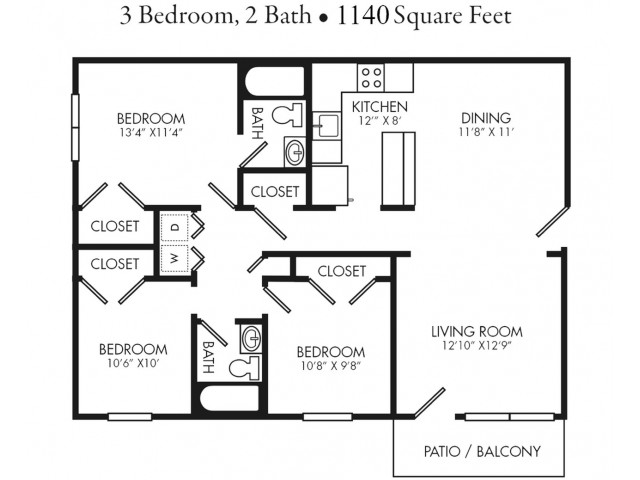 Renovated 3 Bedroom Apartment Unit. Rent by Bed or Full Unit.