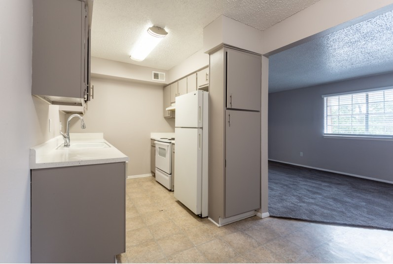 interior photo of our newly remodeled kitchen
