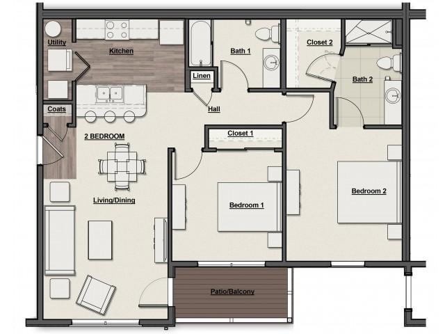 Overlook Floor Plan