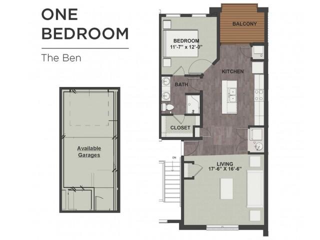 The Ben floor plan