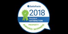 2018 Resident Satisfacts Winner
