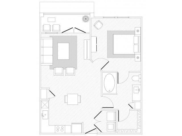 Lady Bird Floorplan