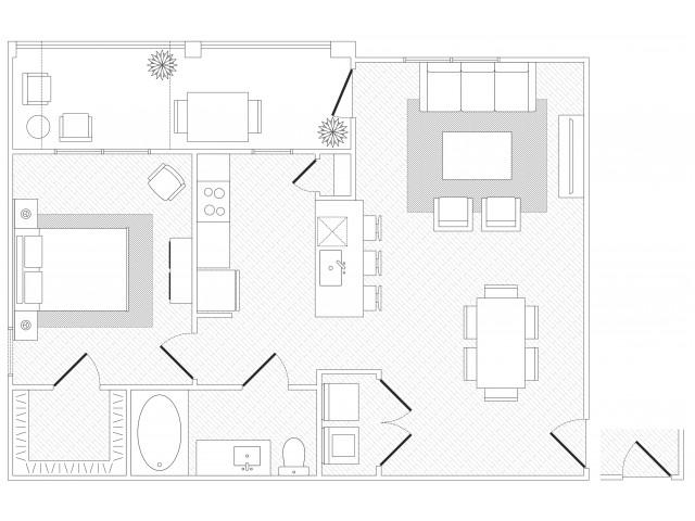 SoCo Floorplan