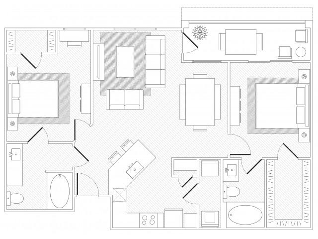 Zilker Floorplan