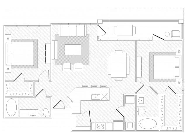 Hyde Park Floorplan