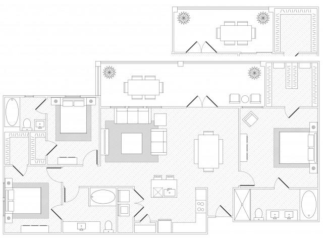 Barton Springs floorplan