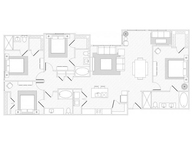 Shoal Creek Floorplan