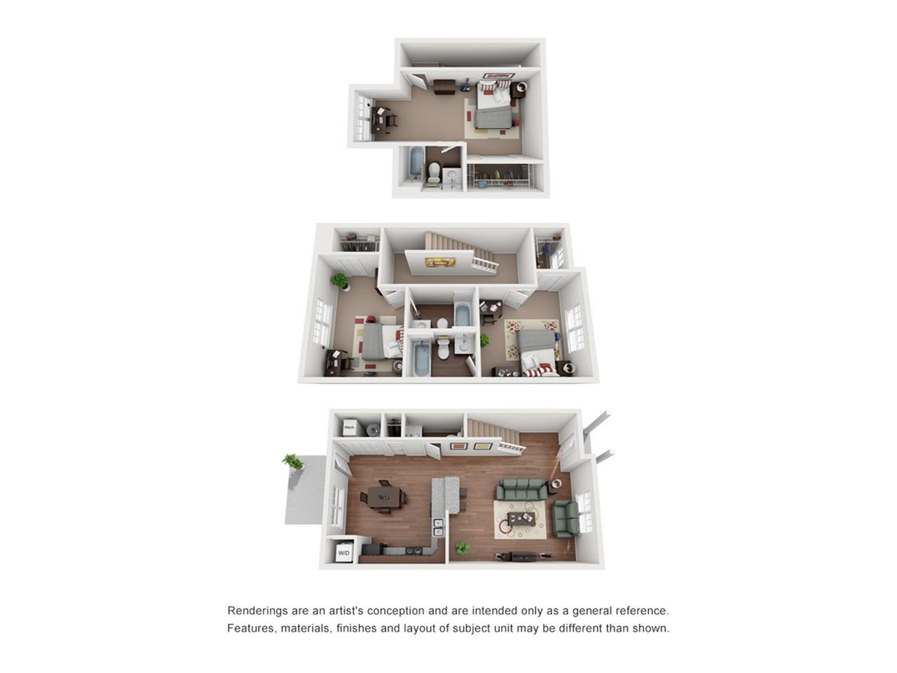 3 Bedroom Townhouse - Pinnacle