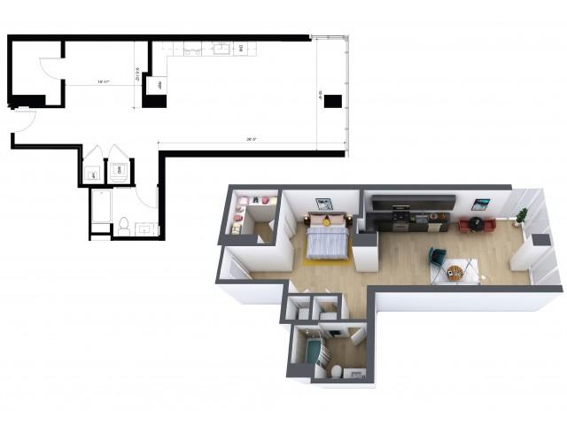 Urban 1 Bedroom