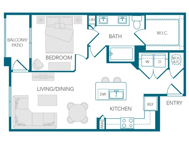 Stone Loch Apartments- A4 Floor Plan