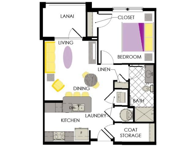 Arcadia Gardens Palm beach Gardens FL | Amaranth floorplan