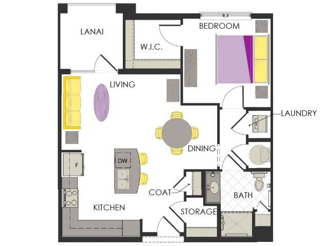 Arcadia Gardens, Palm Beach Gardens FL | Lavender Deluxe floorplan