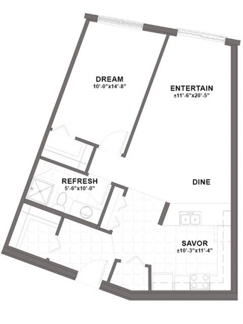 Dupont floor plan