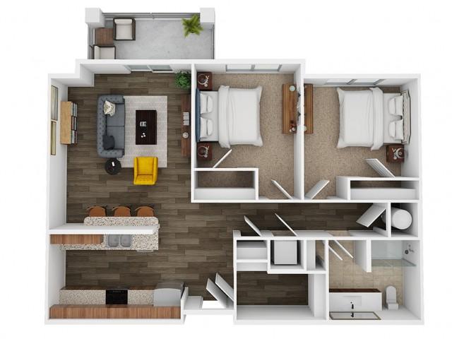 Onyx 3d floor plan