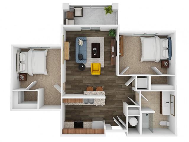 pearl 3d floor plan
