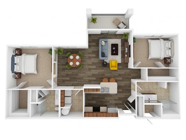 sapphire 3d floor plan