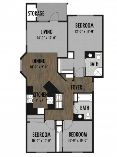 Obsidian Floor Plan