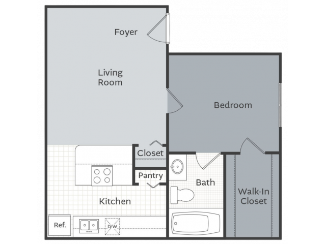 The Meadow - 550 square feet
