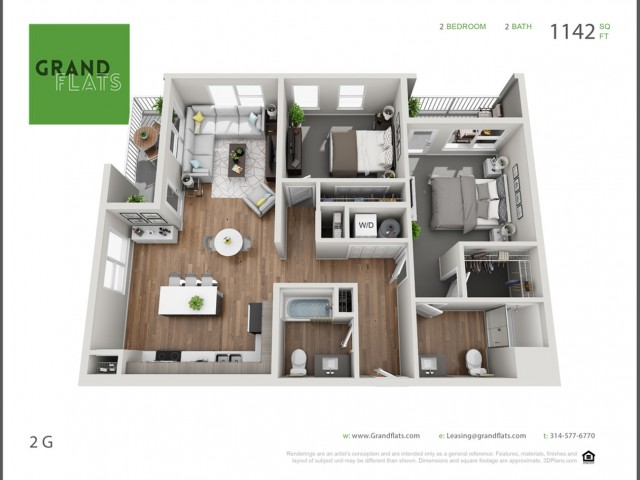 Two Bedroom G