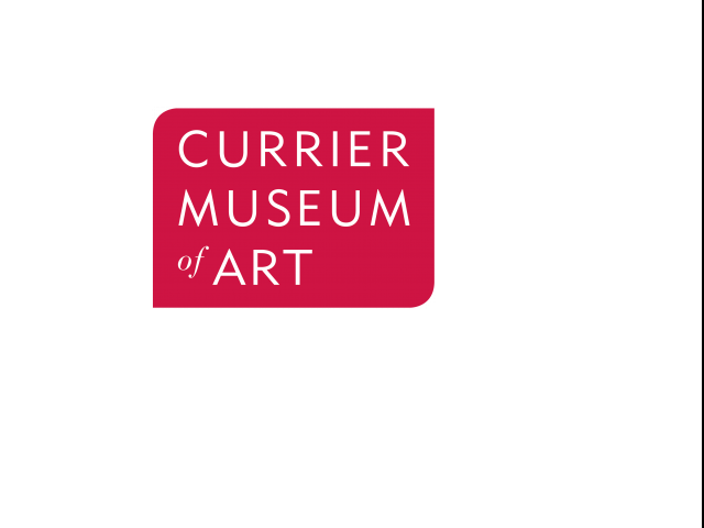 Logo for Currier Museum of Art near Greenview Village apartments.