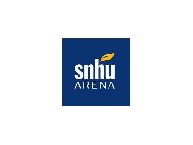 SNHU Arena Logo - Facility located near Greenview Village apartments in Manchester, NH.