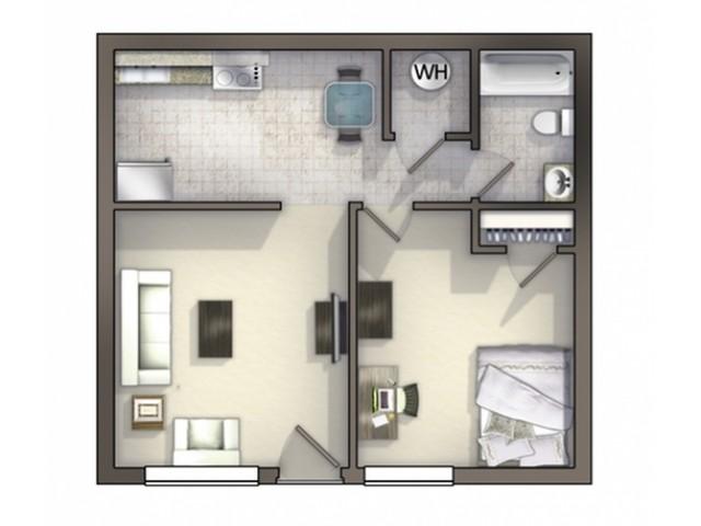 A4 Floor Plan   Floor Plan 4   University Apartments Durham   Apartments Near Duke University