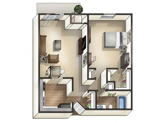 A2DO double occupancy option | University Apartments Durham | Apartments In Durham NC