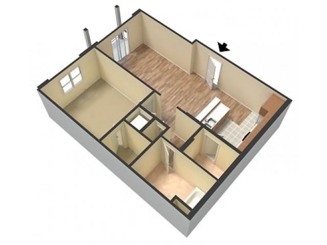 Scotsdale Remodeled 1 Bedroom