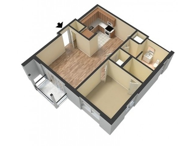 Scotsdale Remodeled 1 Bedroom with Washer/Dryer