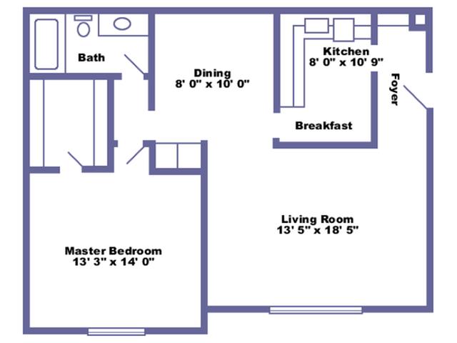Suffolk floor plan 2D