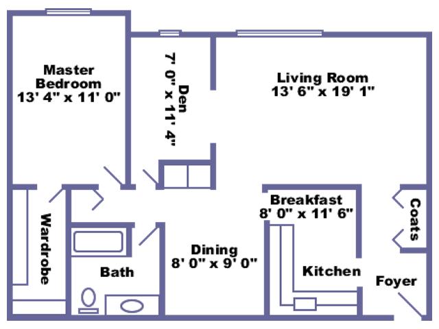 Jersey floor plan 2D