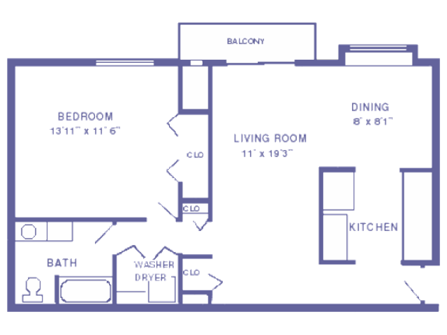 Champ floor plan 2D