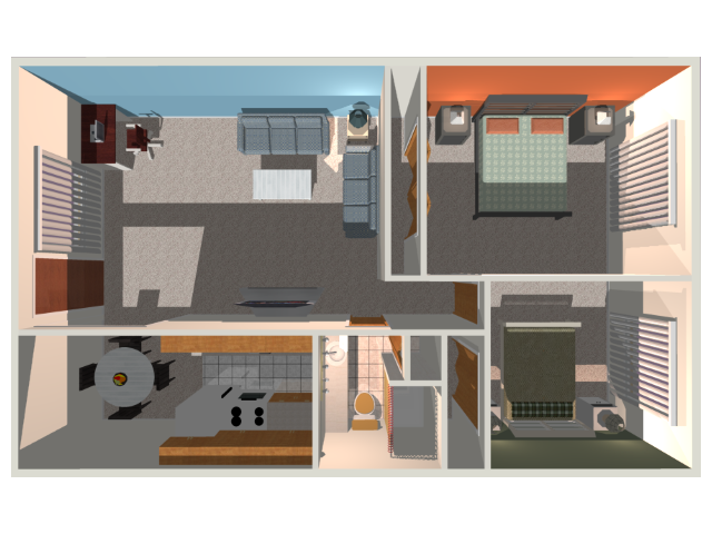 Bernstein floor plan 3D