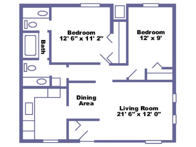 McCloud floor plan 2D