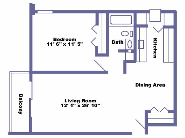 Edward floor plan 2D