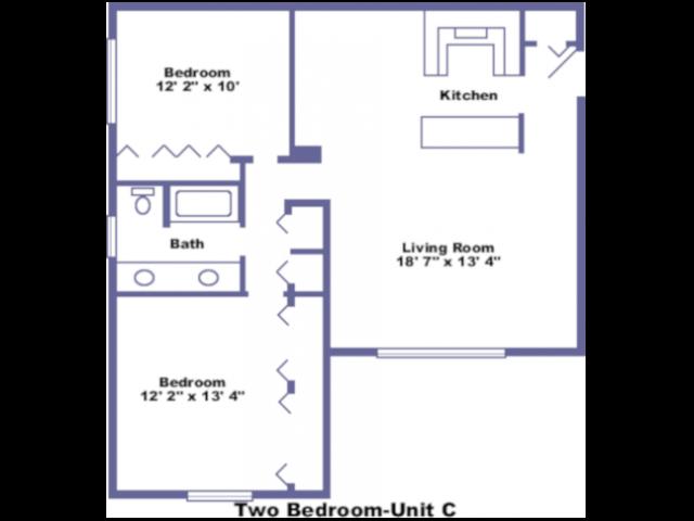 Waterloo floorplan 2D