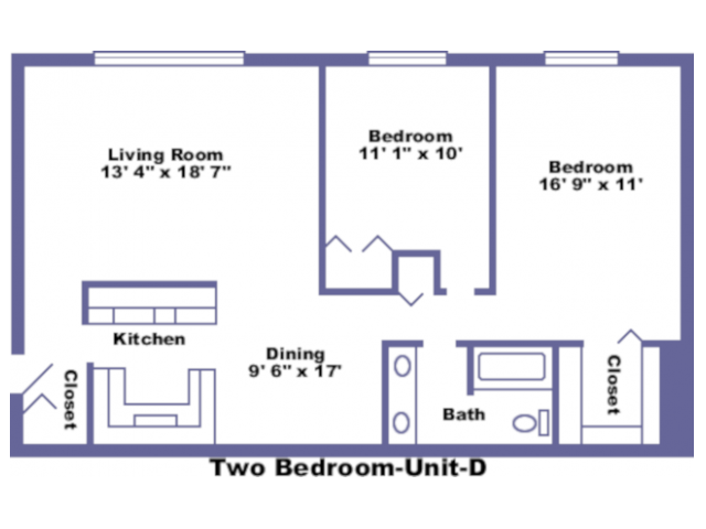 Independence floorplan 2D