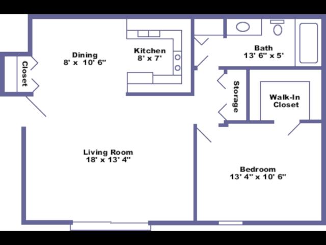 Hume floor plan 2D