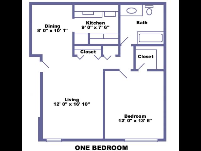 Brandywine 2D floor plan