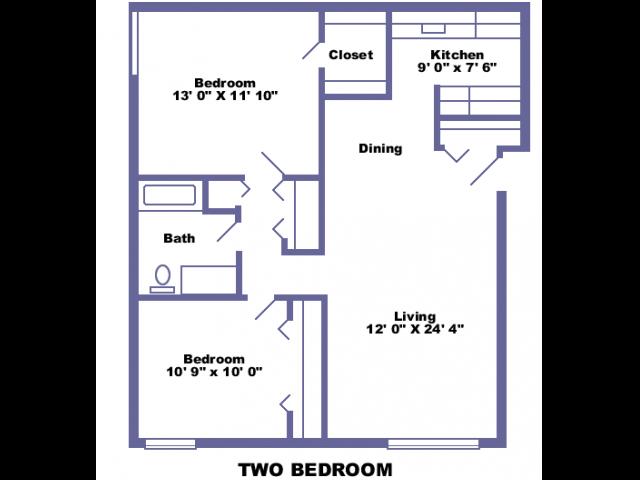 Culver 2D floor plan