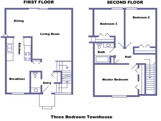 Franklin 2D floor plan