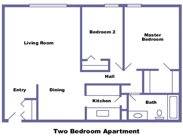 Adams 2D floor plan
