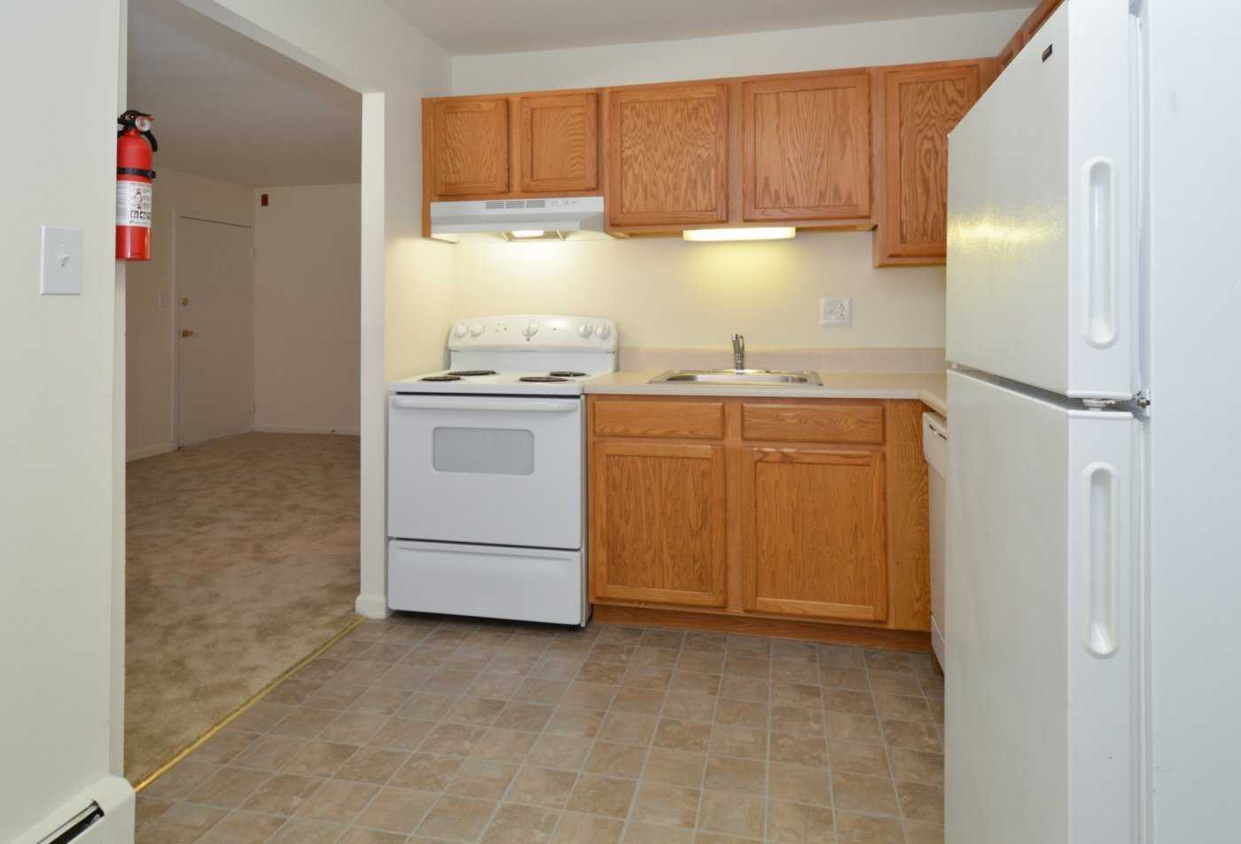 Modern Kitchen | Boothwyn PA Apartment For Rent | Boothwyn Court Apartments