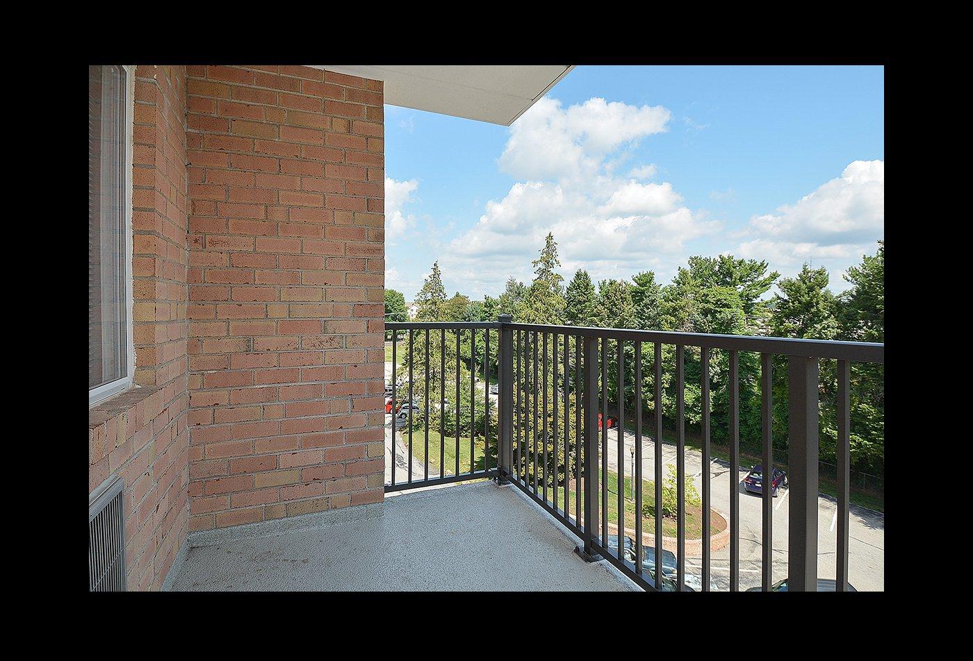 Spacious Apartment Balcony | East Norriton PA Apartments For Rent | Norriton East Apartments
