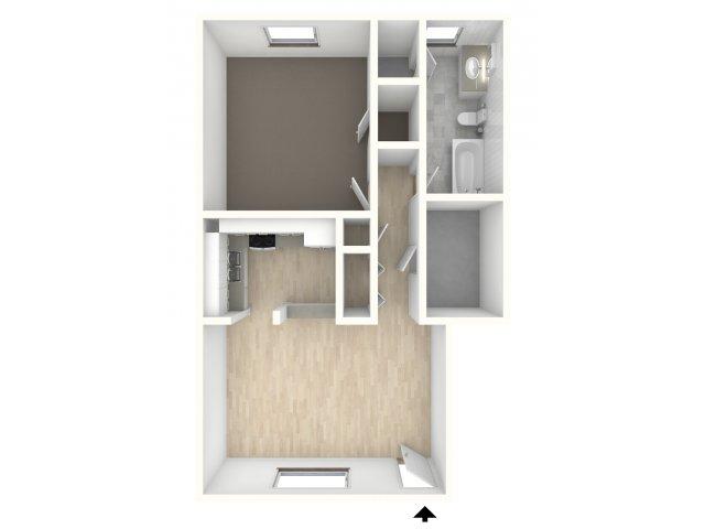 1 Bedroom Apartments | Carlisle Park