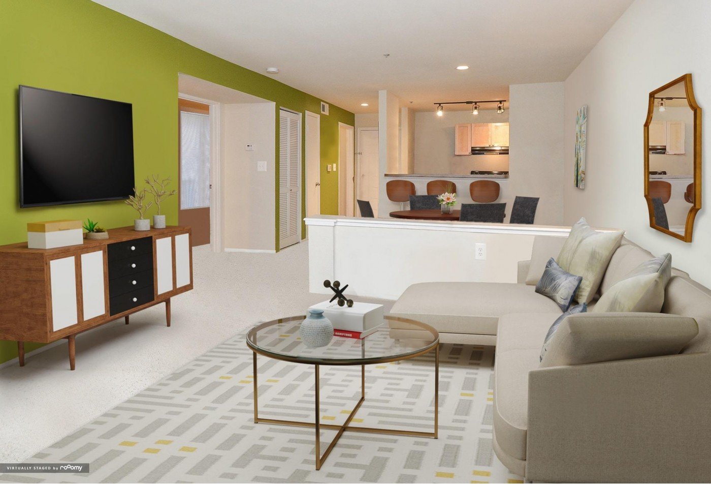 Spacious Living Room   Apartments in Baltimore, MD   Waterloo Place Apartments