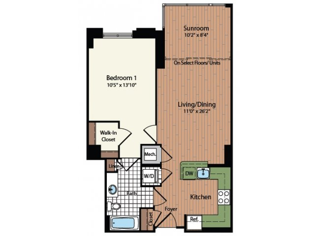 Floor Plan 8 | Meridian at Mt Vernon Triangle