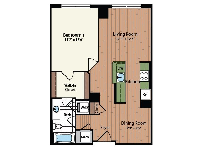 Floor Plan 14 | Meridian at Mt Vernon Triangle