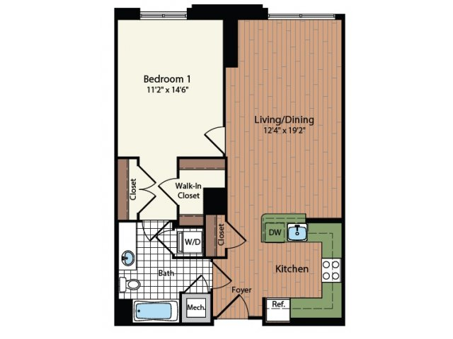Floor Plan 6 | Meridian at Mt Vernon Triangle